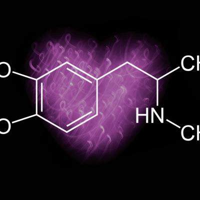 MDMA Molecule Diagram